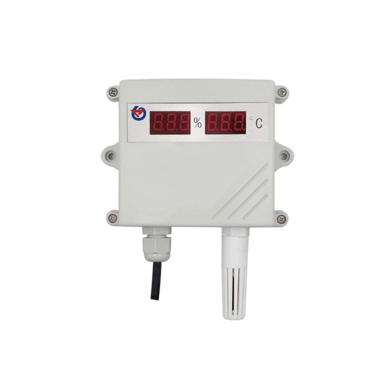 数码管王字壳485型温湿度变送器 RS-WS-N01-SMG-*