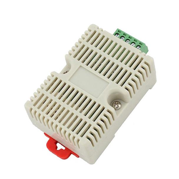 扁卡轨壳485型温湿度变送器 RS-WS-N01-8
