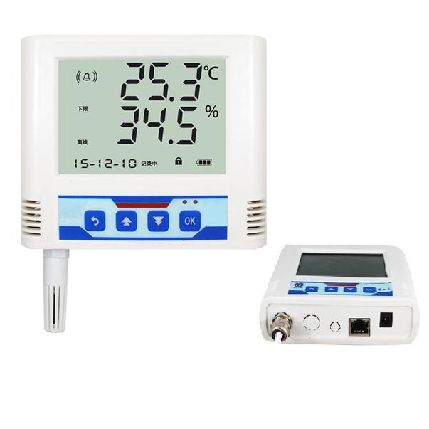 以太网温湿度变送记录仪 RS-WS-ETH-6-*