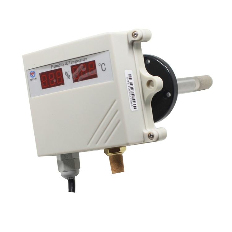 数显管道式485型模拟量型温湿度变送器 RS-WS-*-SMG-*