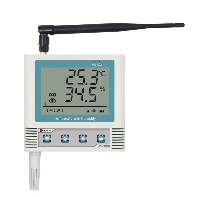 无线电温湿度变送记录仪 RS-WS-DC-6C-*