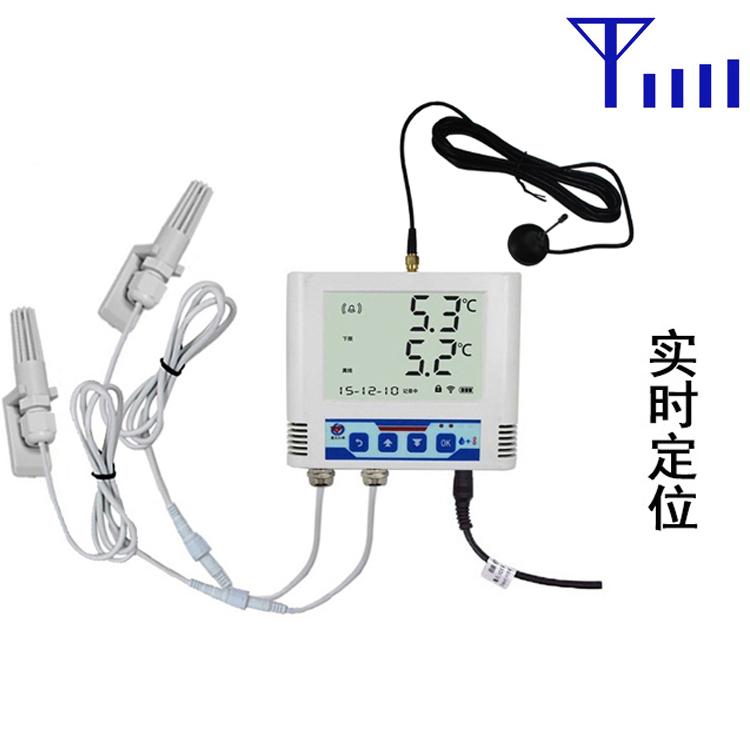 GPRS车载双温度记录仪