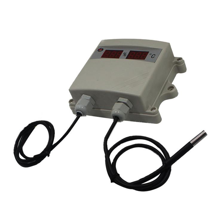 数码管单温度模拟量变送器 RS-WD-*-SMG-*
