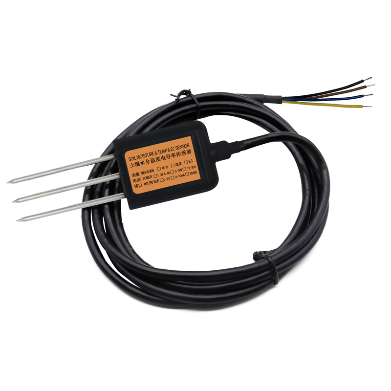 土壤温度水分电导率三合一变送器 158