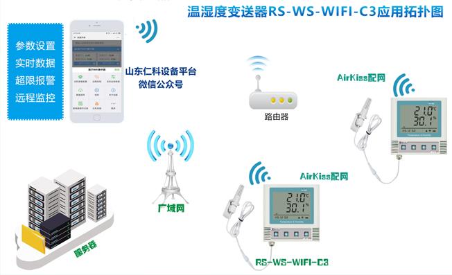 温湿度变送器(RS-WS-WIFI-C3)的三大功能